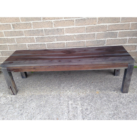 Rosewood Sheesham Bench with Walnut Finish