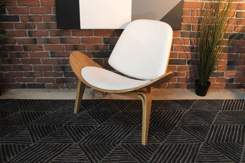 Wegner Style Shell Chair - Wazo Furniture