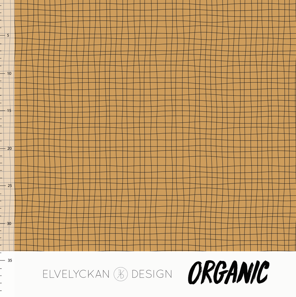 PRESALE // GRID OCHRE - 1 YARD
