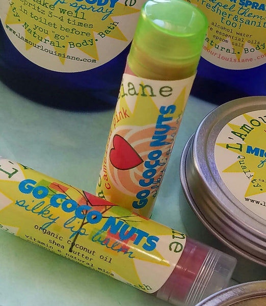 GO COCO NUTS SILKY color&shine LIP BALM SPF 4