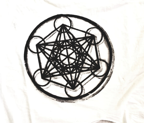 METATRON'S CUBE Mens Cut Tee