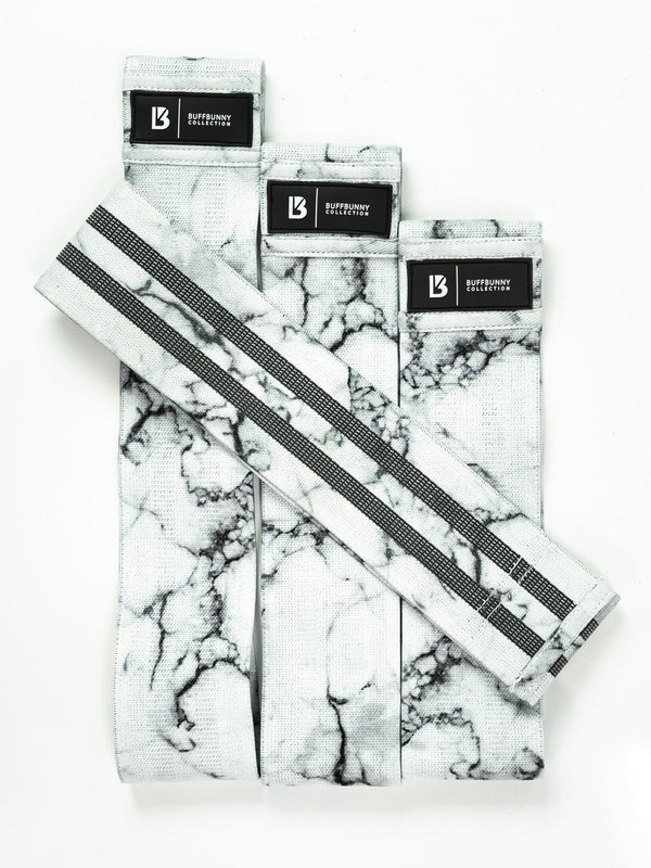 Glute Band - White Marble