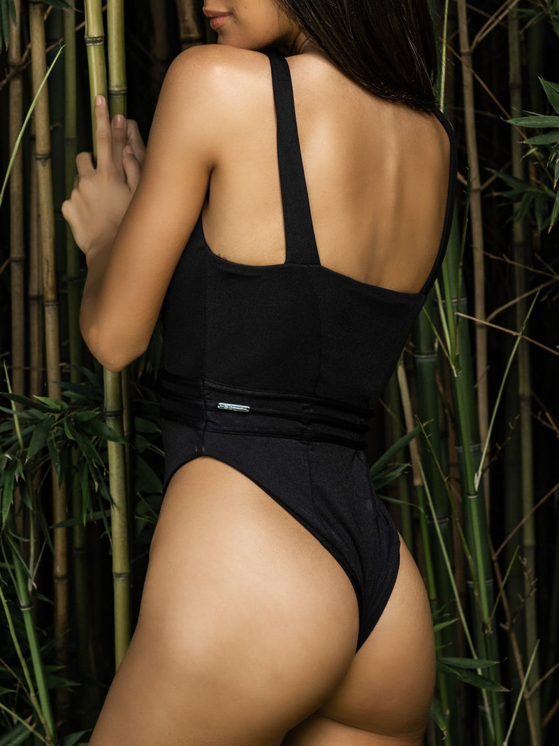 Pleat The 5th One Piece - Onyx