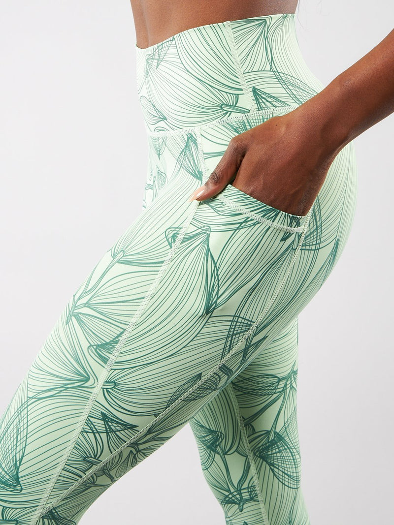 Limitless Legging - Citrus Green