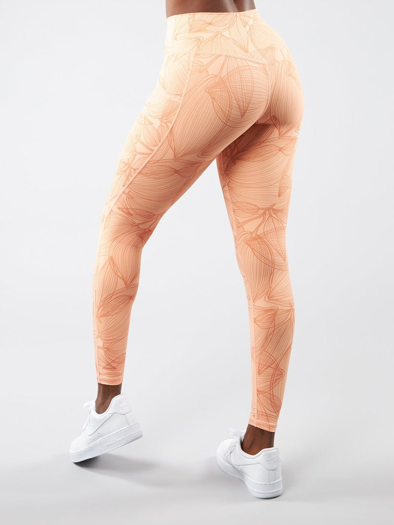 Limitless Legging - Citrus Peach