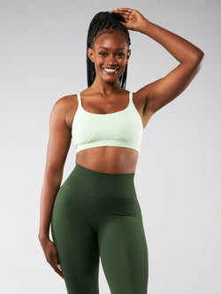 Spin Sports Bra - High Voltage