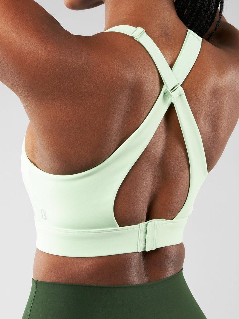 Under Pressure Sports Bra - High Voltage