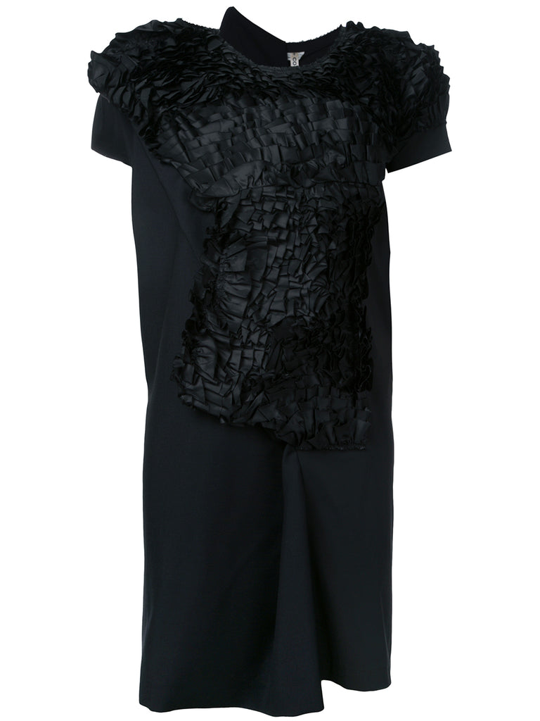 COMME DES GARÇONS abstract ruffle dress