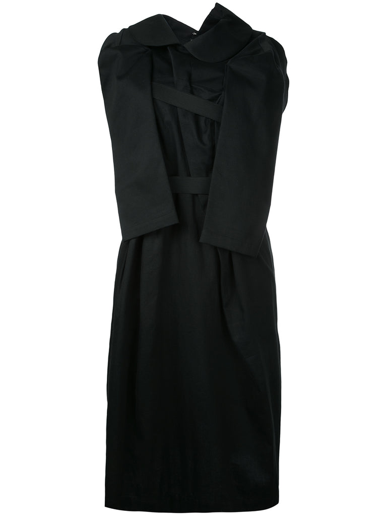 COMME DES GARÇONS twisted sleeveless dress