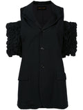 COMME DES GARÇONS off-the-shoulder ruched sleeve jacket