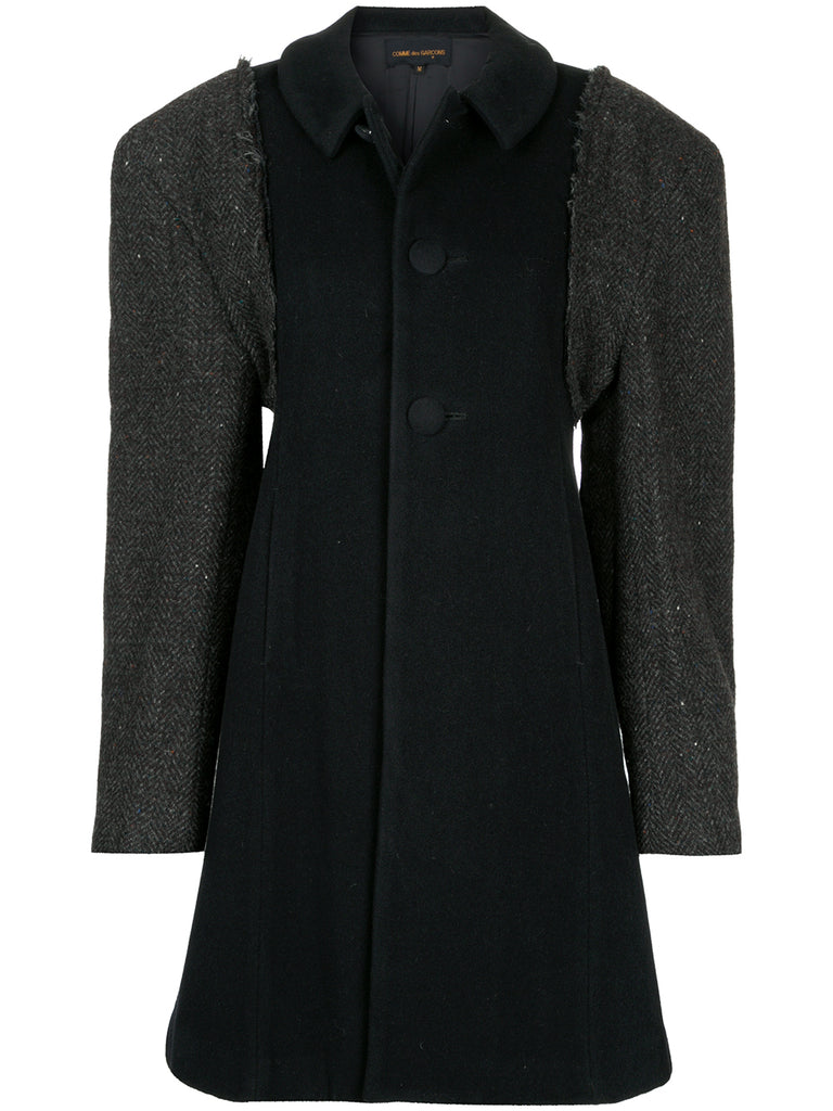 COMME DES GARÇONS exaggerated shoulders coat