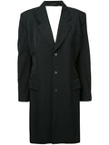 COMME DES GARÇONS backless tailored coat
