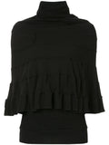 JUNYA WATANABE ribbed layered turtleneck top