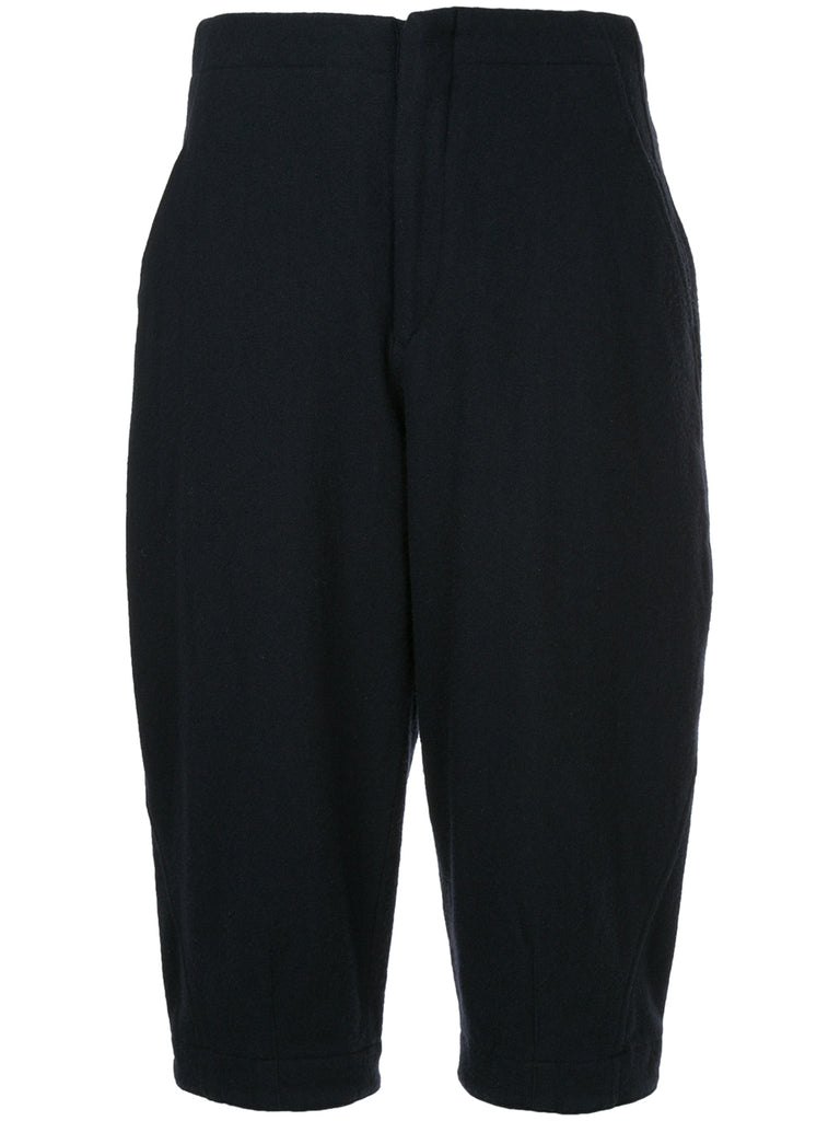 COMME DES GARÇONS structured cropped trousers