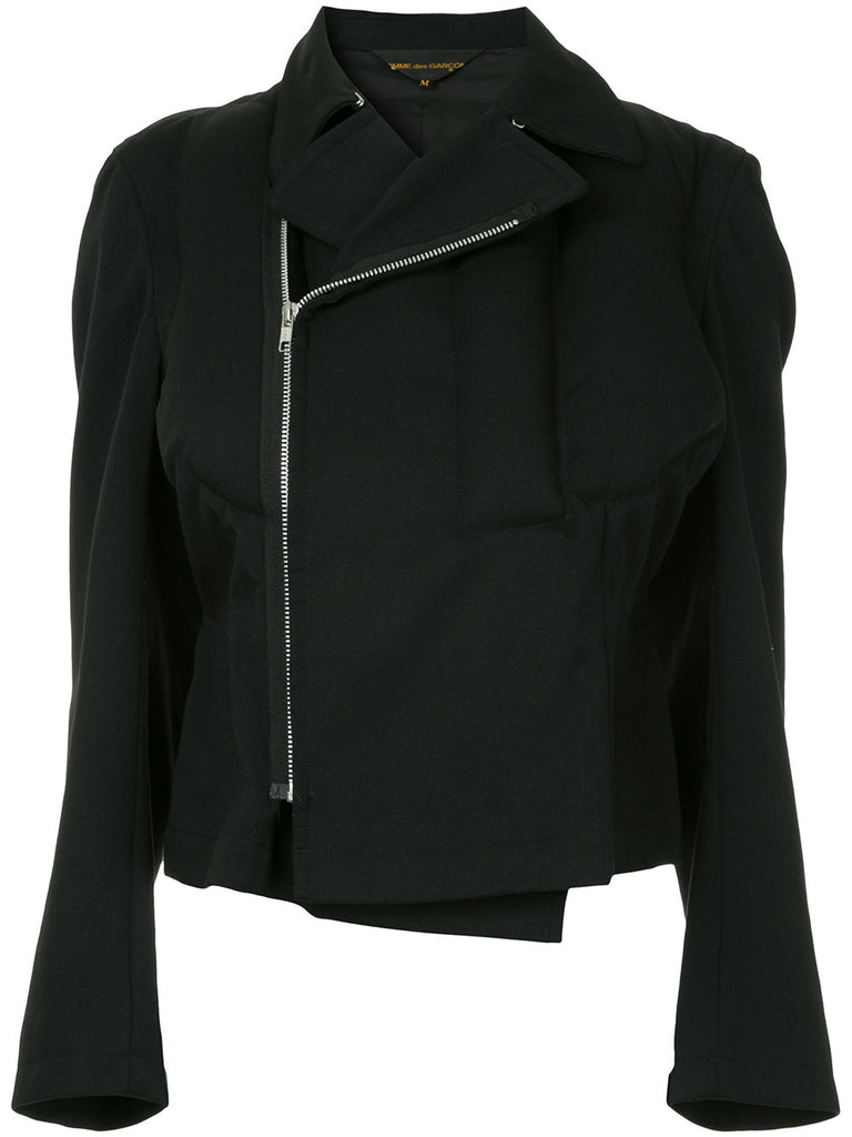 COMME DES GARÇONS zipped fitted jacket