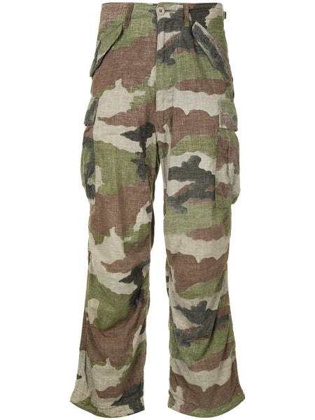 JUNYA WATANABE COMME DES GARÇONS camouflage cargo trousers