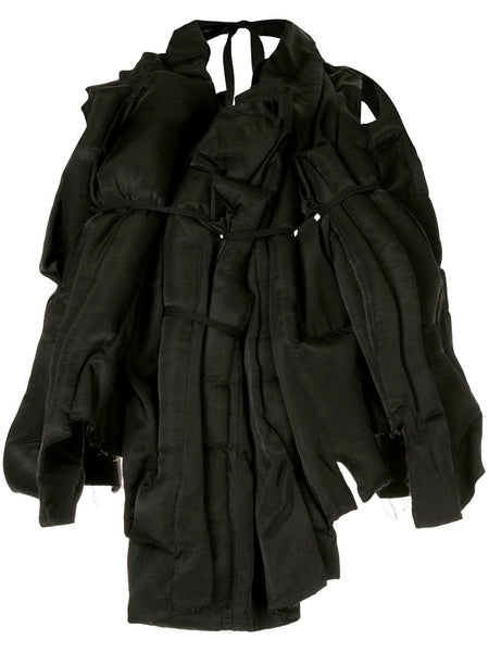 COMME DES GARÇONS abstract bundled padded vest