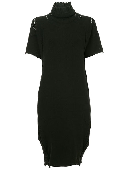 ISSEY MIYAKE turtleneck sweater dress