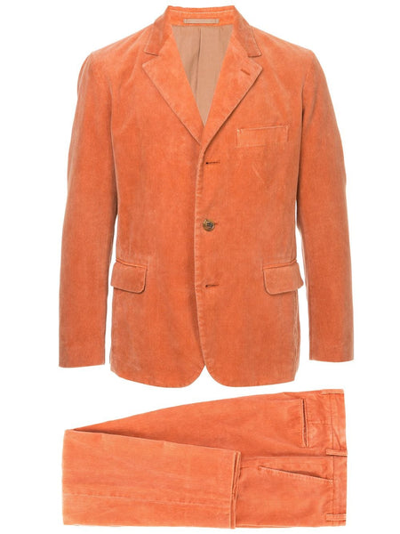 ISSEY MIYAKE textured two-piece suit