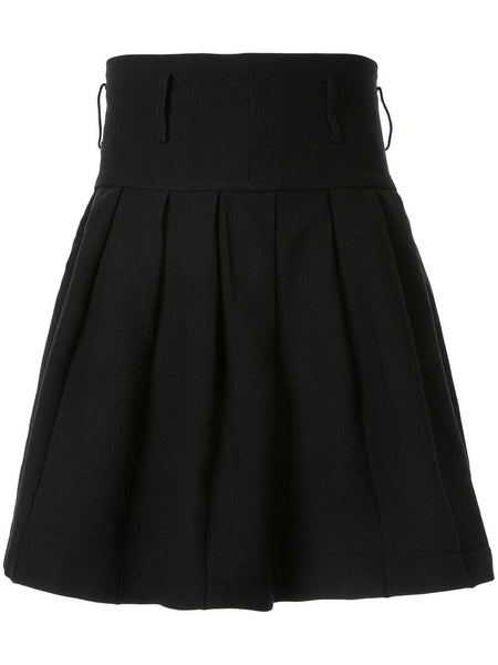 COMME DES GARÇONS pleated wrapped skirt