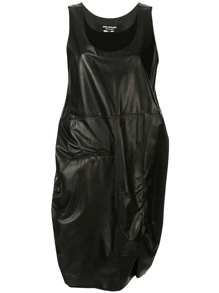 JUNYA WATANABE COMME DES GARÇONS two-layer leather dress