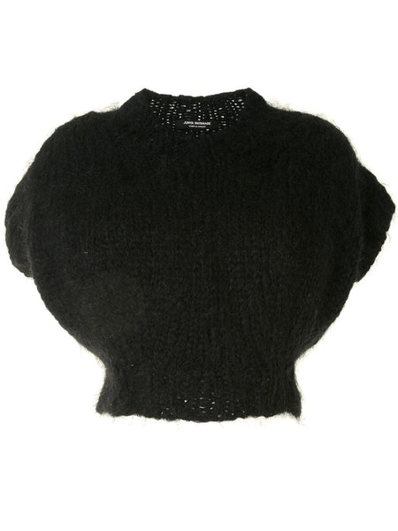 Junya Watanabe Comme des Garçons cropped knitted top