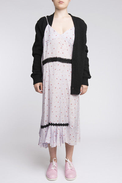 COMME des GARÇONS <br> Dress With Attached Knit