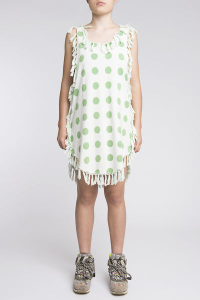 Bernhard Willhelm <br> Spotted Fringing Dress