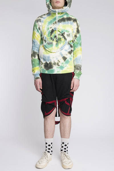 Bernhard Willhelm <br> Tie Dye Braid Sweater