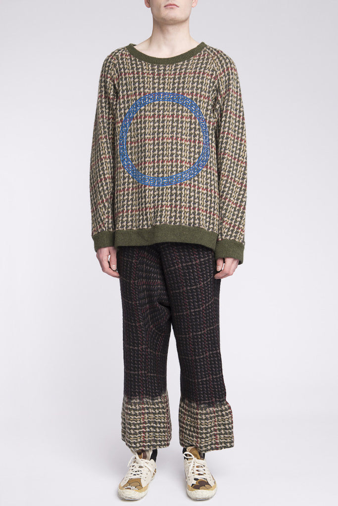 Bernhard Willhelm <br> Dip Dyed Knit Ensemble