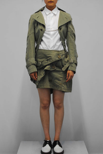 Junya Watanabe <br> Deconstructed Military Ensemble