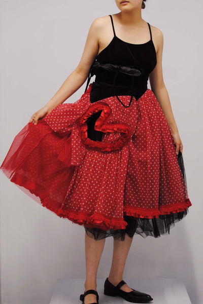 COMME des GARÇONS <br> Love Heart Cut-Out Dress