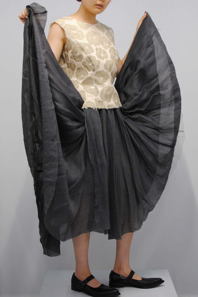 COMME des GARÇONS <br> Layered Top and Tulle Skirt Ensemble