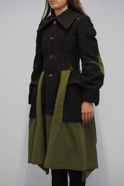Junya Watanabe <br> Military Patch Coat