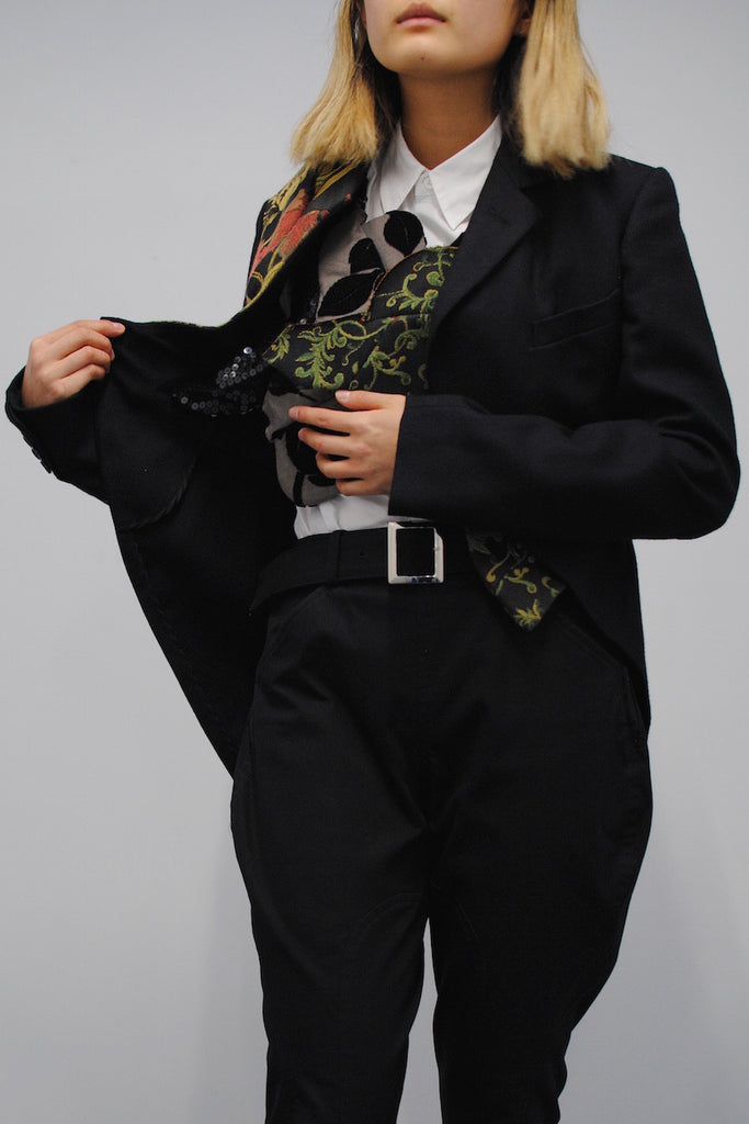 COMME des GARÇONS <br> Tailcoat With Attached Panels