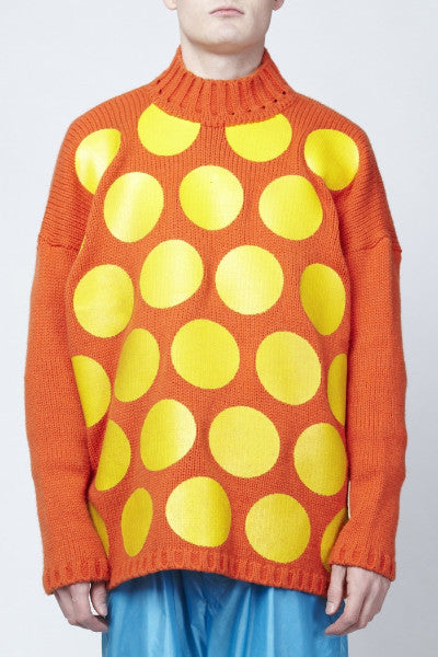 Walter Van Beirendonck <br> Painted Spot Sweater