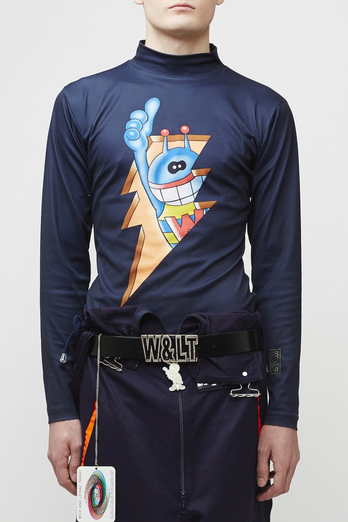 Walter Van Beirendonck <br> Puk Puk Flash Turtleneck
