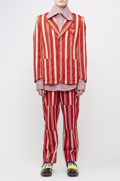 Walter Van Beirendonck <br> Striped Suit
