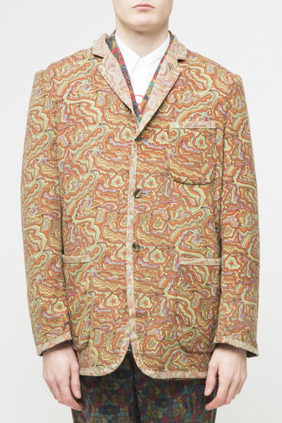 COMME des GARÇONS <br> Psychedelic Topography Jacket