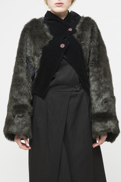 Issey Miyake <br> Furry Arm Jacket