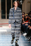 YOHJI YAMAMOTO Pour Homme thick patterned trousers