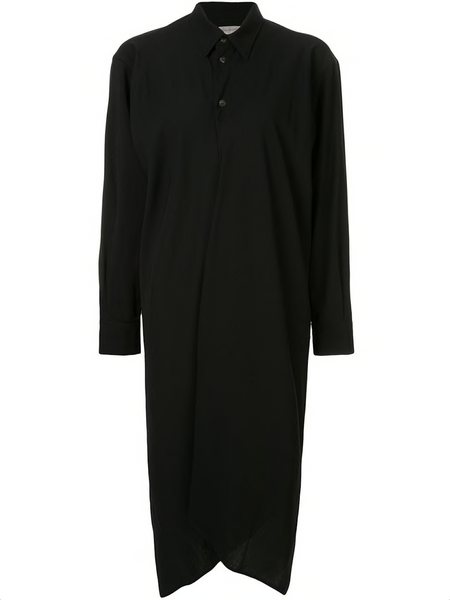 YOHJI YAMAMOTO backless button-up dress