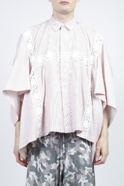 Bernhard Willhelm <br> Oversized Bavarian Shirt