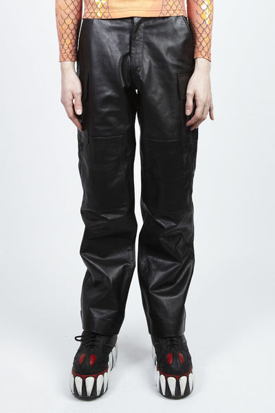 Walter Van Beirendonck <br> Leather Pants