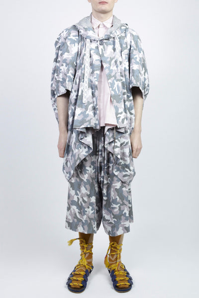 Bernhard Willhelm <br> Camouflage Print Ensemble