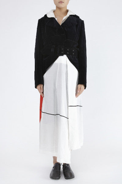 COMME des GARÇONS <br> Red Dot Jacket Dress