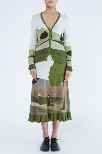 Bernhard Willhelm <br> Country Print Ensemble