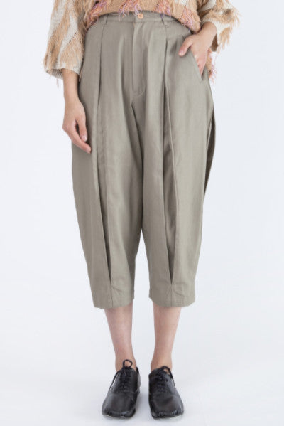Issey Miyake <br> Indent Pleat Pants