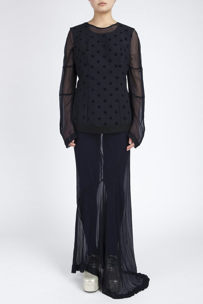 COMME des GARÇONS <br> Sheer under layer Dress