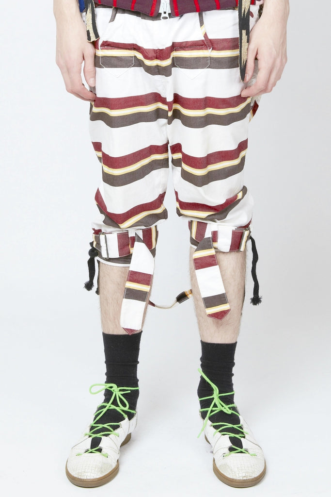 Bernhard Willhelm <br> Bondage Shorts